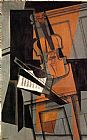 Juan Gris The Violin painting