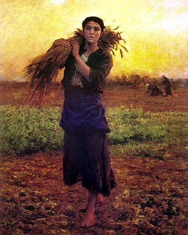 Jules Breton Painting For Sale
