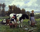 Milkmaids in the Field