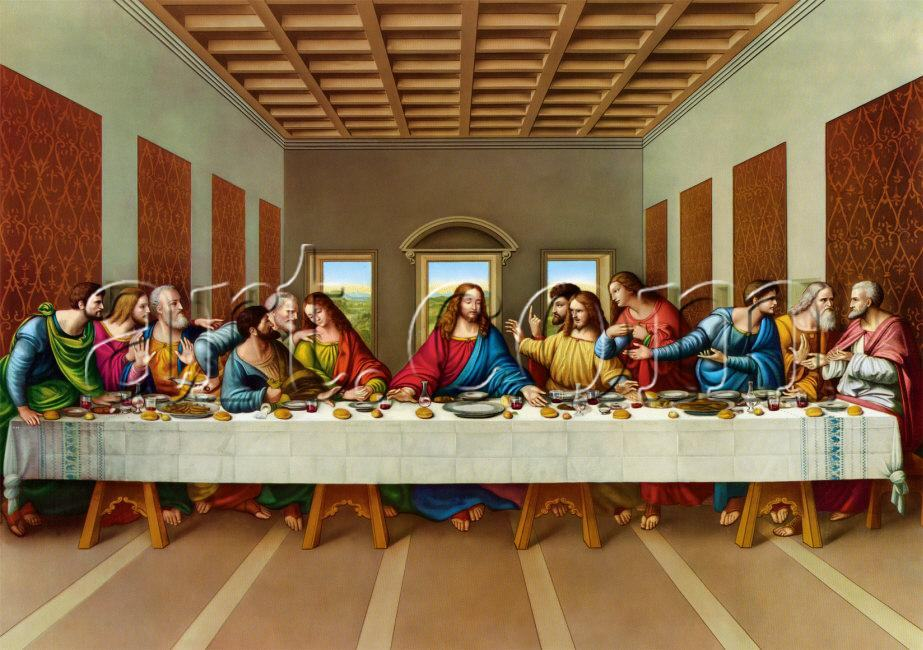Leonardo da Vinci the picture of the last supper painting ...