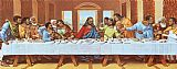 Leonardo da Vinci - large picture of the last supper
