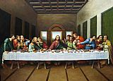 Leonardo da Vinci - original picture of the last supper