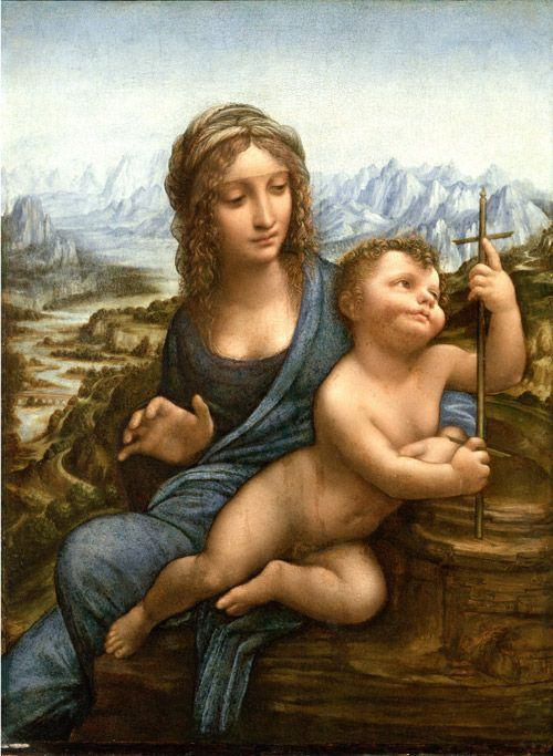 Leonardo da Vinci Madonna of the Yarnwinder