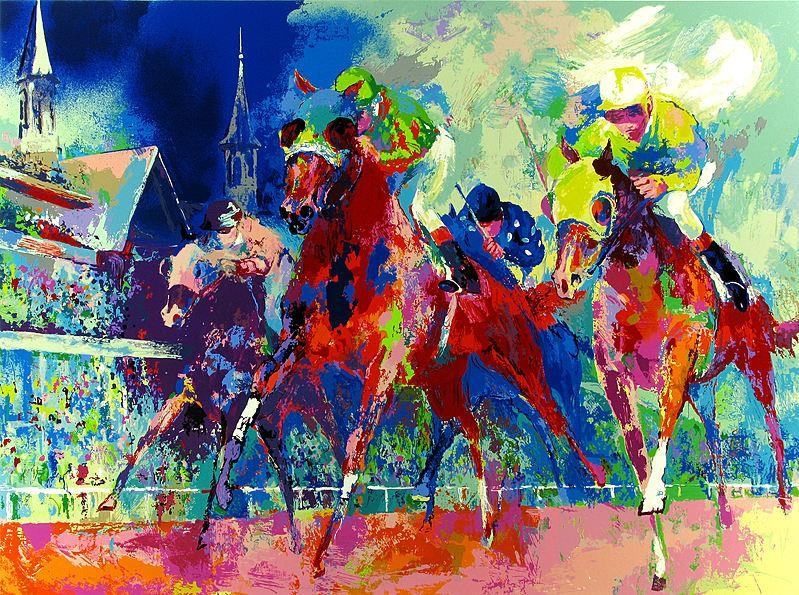 Leroy Neiman Churchill Downs