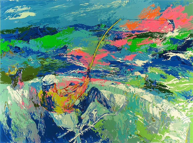 Leroy Neiman Marlin Fishing