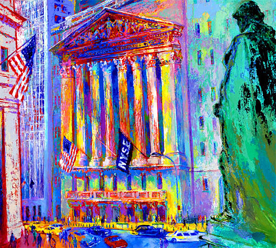 Leroy Neiman New York Stock Exchange