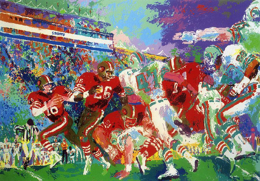 Leroy Neiman Post Season Football Classic
