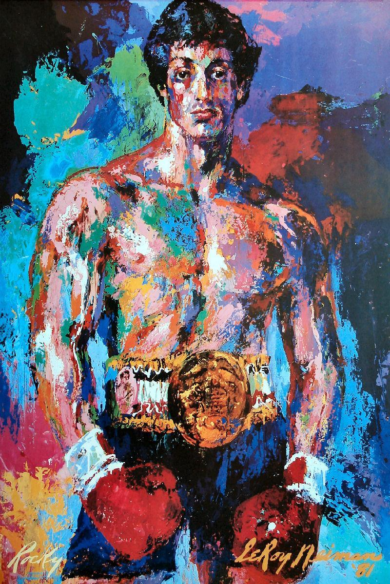 Rocky 3 Painting