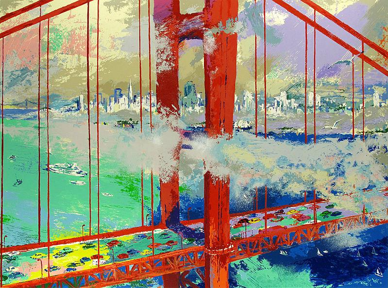 Leroy Neiman San Francisco by Day