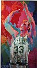 Leroy Neiman 33 For 3, Larry Bird painting