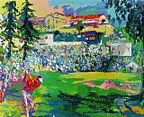 Leroy Neiman Amphitheatre at Rivera painting
