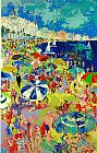 Famous Beach Paintings - Beach at Cannes