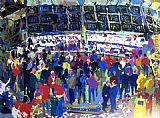 Leroy Neiman Chicago Options painting