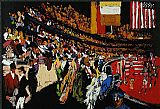 Famous Horse Paintings - International Horse Show New York