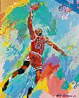 Leroy Neiman Famous Paintings - Michael Jordan Art