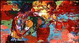 Leroy Neiman Famous Paintings - Rocky