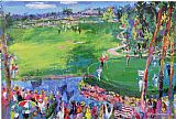 Leroy Neiman Ryder Cup painting
