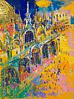 Leroy Neiman Wall Art - San Marco's Square