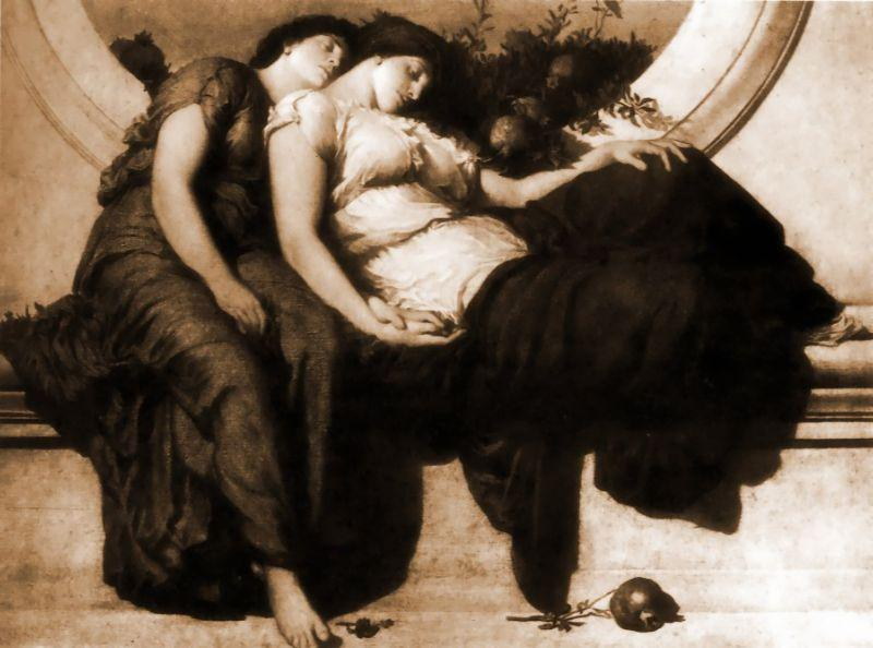Lord Frederick Leighton Summer Noon