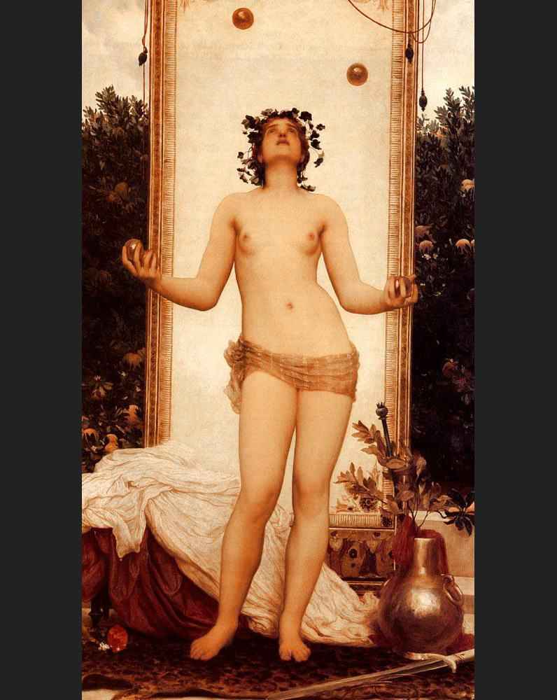 Lord Frederick Leighton The Antique Juggling Girl
