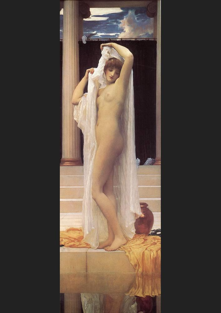Lord Frederick Leighton The Bath of Psyche