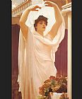 Lord Frederick Leighton Invocation painting