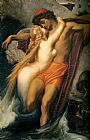 Lord Frederick Leighton The Fisherman and the Syren painting