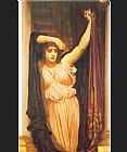 Lord Frederick Leighton The Last Watch of Hero painting