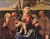 Famous Madonna Paintings - Madonna and Child with Saints