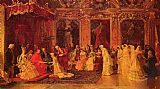 Luis Alvarez Catala - Princess Borghese Bestowing Dowries