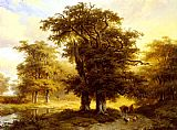 Marianus Adrianus Koekkoek The Country Road painting