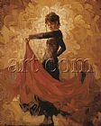 Mark Spain Flamenco I painting