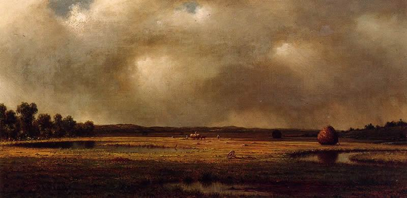Martin Johnson Heade Storm over the Marshes