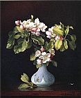 Vase Canvas Paintings - Apple Blossoms in a Vase