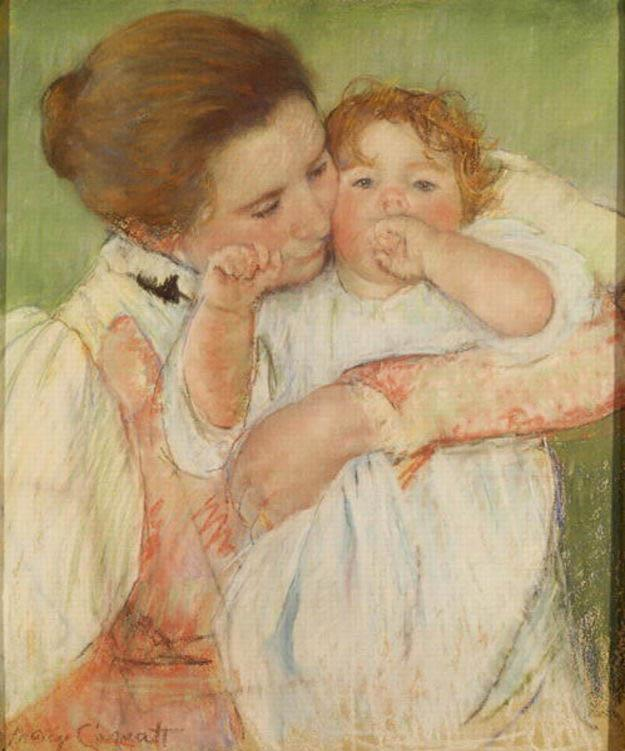 Mary Cassatt Mother and Child, 1897