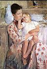 Mary Cassatt Mother And Child XI painting