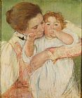 Famous Child Paintings - Mother and Child, 1897