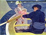Mary Cassatt The Boating Party painting