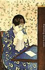 Mary Cassatt Wall Art - The Letter