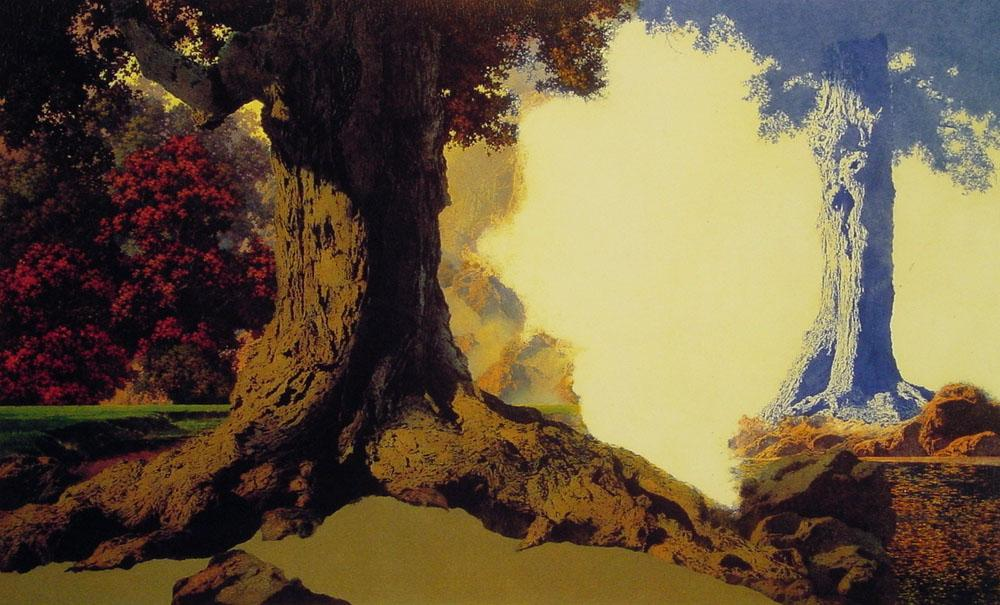 Maxfield Parrish Dreaming October