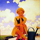 Mary Canvas Paintings - Mary, Mary Quite Contrary