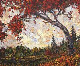 Maya Eventov Famous Paintings - Autumn Maple