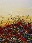 Maya Eventov Wall Art - Sunlit Poppies