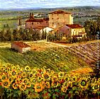 villa Wall Art - Provencal Village III
