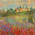 villa Wall Art - Provencal Village XI