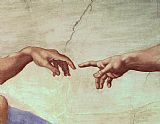 The Creation of Adam hand