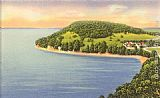 Norman Parkinson Mallets Bay, Lake Champlain painting