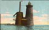 out Wall Art - Whaleback Lighthouse, Portsmouth, New Hampshire