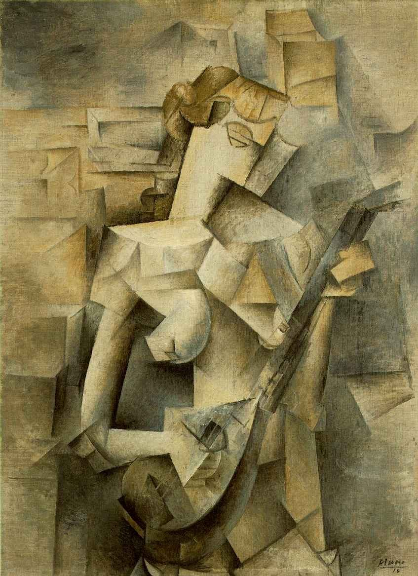 Pablo Picasso Girl with Mandolin Fanny Tellie