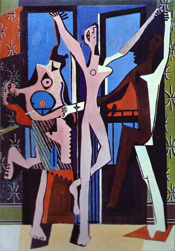 Pablo Picasso Three Dancers